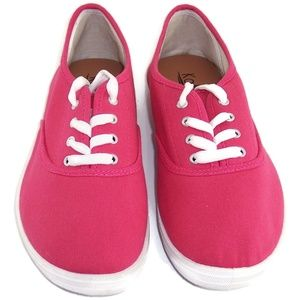 Kalli Women's Sneakers Pink Lace Up Size US 10